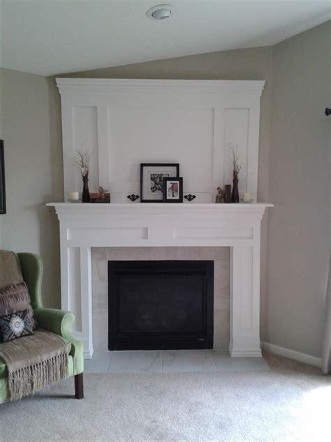 Corner Fireplace Mantel Ideas by Best 25 Corner Fireplaces Ideas On Corner