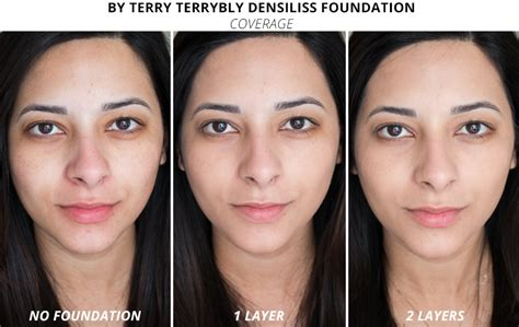 by terry terrybly densiliss foundation review before and after sheer coverage makeup style guru fashion glitz