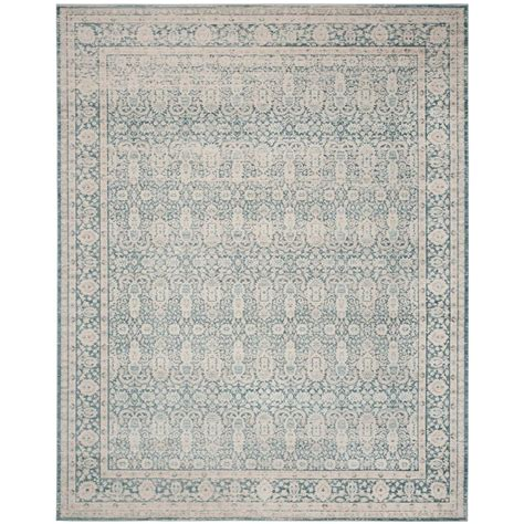 10 Ft Gray Blue Rugs by Safavieh Archive Blue Grey 8 Ft X 10 Ft Area Rug Arc674b