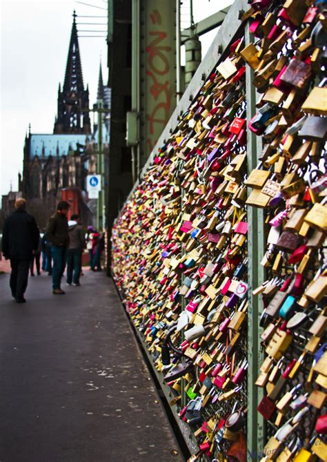images of love lock bridge a look at an interesting german traditions and customs