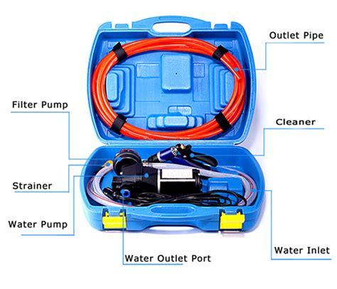 boat wash usa 12v portable boat deck wash kit