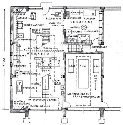 werkstatt grundriss archiv f 252 r autobahn und stra 223 engeschichte