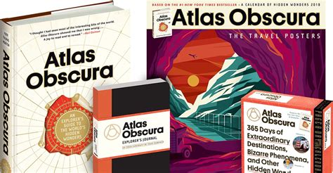 atlas obscura 365 atlas obscura books and calendars