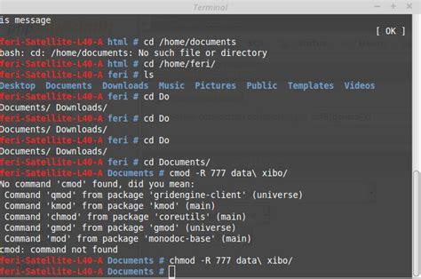 tutorial xibo client tutorial instalasi xibo di linux mint 17 1 feri khamdani