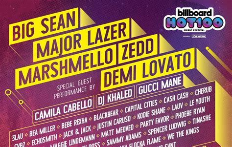 Billboard Sweepstakes - rca x billboard hot 100 music festival ticket sweepstakes