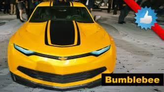 chevrolet camaro bumblebee edition transformers special