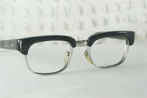 60s mens glasses 1960 s browline eyeglass frames by diaeyewear