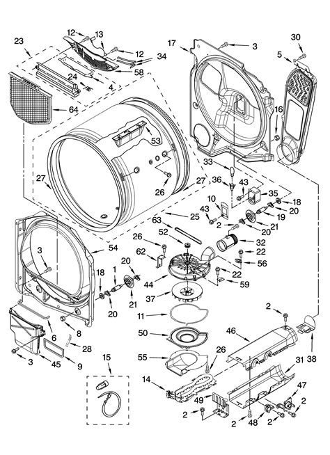 kenmore oasis washer parts diagram i a kenmore elite oasis dryer that won t start model