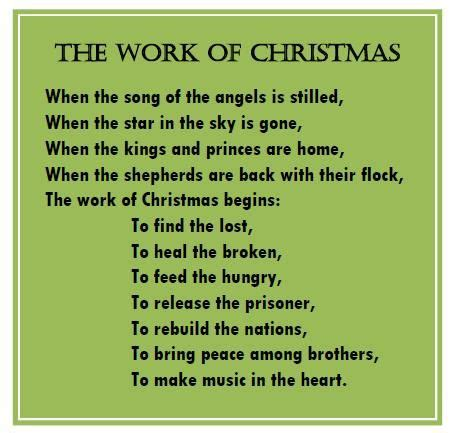 work  christmas howard thurman christmas poems thanksgiving quotes