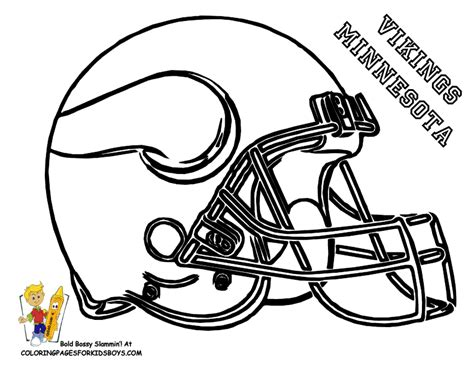 Nfl Vikings Coloring Pages | mn vikings printable coloring page vikings pinterest