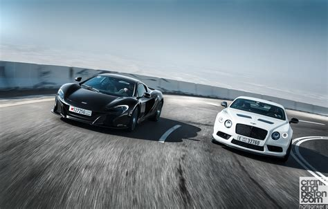 bentley gt3 bentley continental gt3 r vs mclaren 650s spider wallpapers