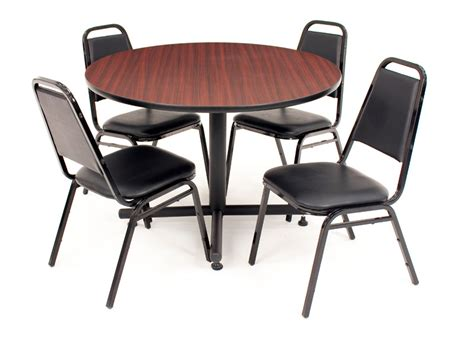 regency office furniture base cafe table and four