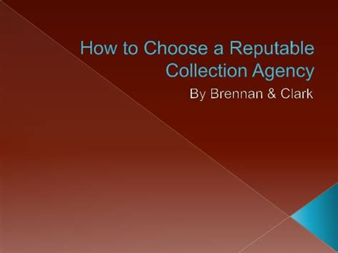 How Collection Agencies Find How To Choose A Reputable Collection Agency