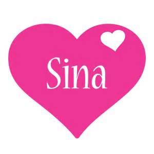 Name Style Design Sina Logo Name Logo Generator I Love Love Heart