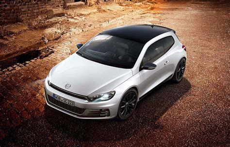 Vw Scirocco Gt And R Line Black Editions That Are White