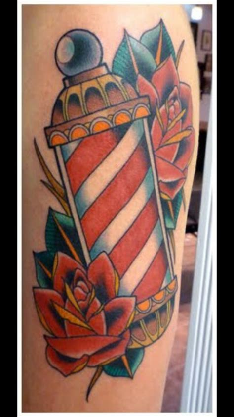 barber pole tattoo designs barber pole tattoos barber s pole