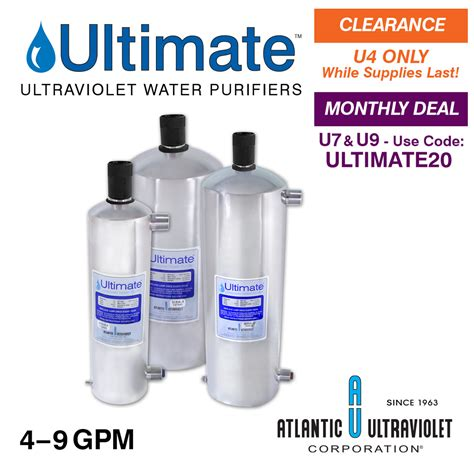 Ultraviolet Uv 16 Gpm ultimate ultraviolet water purifiers 4 9 gpm buyultraviolet