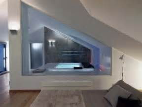 Super Interior Design Camera Da Letto #1: Attic-bathroom-interior.jpg