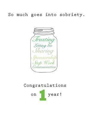 Happy Sober Anniversary (1 Year). Free Milestones eCards