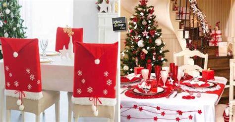 idee per tavola natalizia decorazioni tavola di natale in rosso e bianco 20 idee
