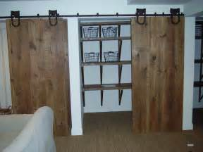 great unpainted closet barn doors for homes with sliding