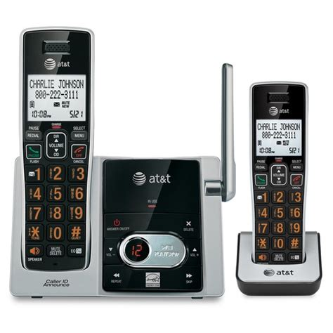 at t voice announce caller id cordless phones at t