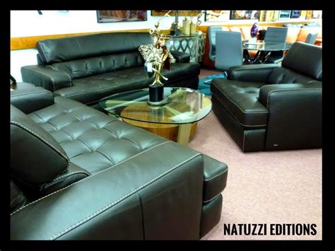 natuzzi leather sofas sectionals  interior concepts