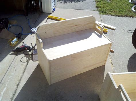build   toy box plans  woodworking