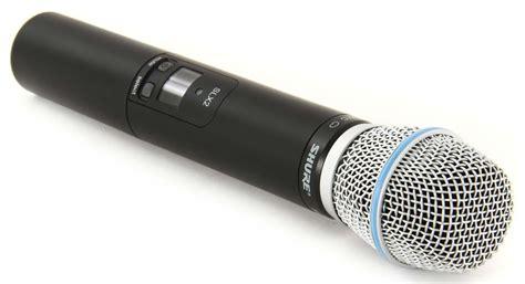 Pro Sound And Lighting Shure Slx2 Beta87c G5 Wireless Mic Transmitter Beta 87c