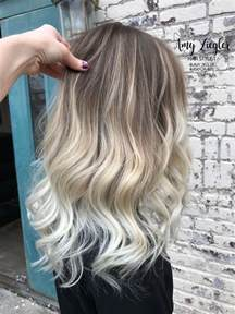 platinum ombre hair best 25 platinum blonde ombre ideas on pinterest