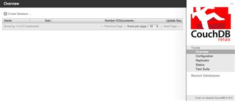 couchdb futon port 面向 php 开发人员的 couchdb 基础知识