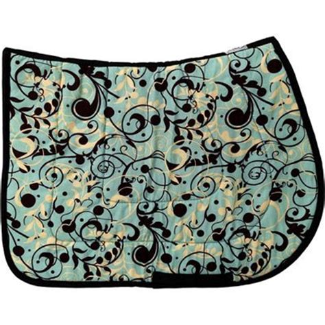 pattern english saddle pads baroque flourish english saddle pad usa made my horse