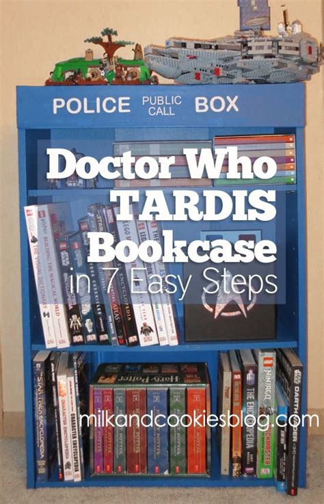 a doctor who bookcase in 7 easy steps