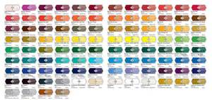 liquitex heavy acrylic paint colour chart character design colour chart