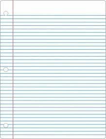 How To Make A With Notebook Paper - 41 best images about notebook paper templates on