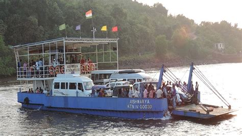 boat service from mumbai to goa mumbai to goa from next april ferry your car on a boat