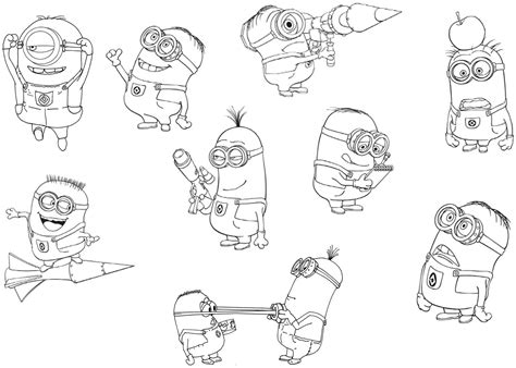 evil minions coloring pages evil minion free colouring pages
