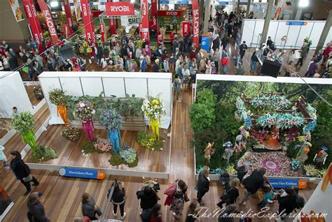 Flower And Garden Show Melbourne Melbourne International Flower And Garden Show 2017 The Nomadic Explorers Australian Travel