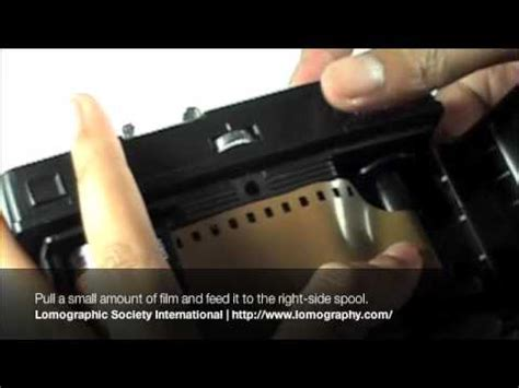 loading 35mm film to your lomo smena 8 (and other smena