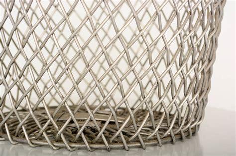 Decorative Waste Baskets by Aluminum Decorative Waste Basket For Sale At 1stdibs