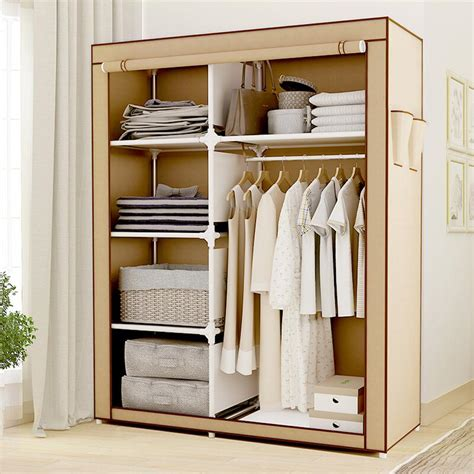 Portable Wardrobe Closet On Wheels - portable wardrobe closet lowes dandk organizer