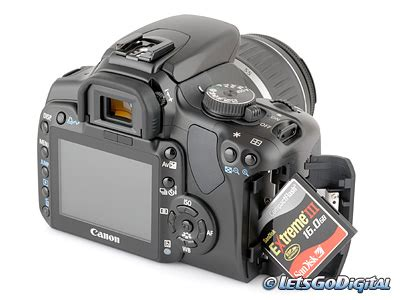 canon eos 400d digital camera review storage and energy