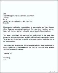 Thank You Letter Supervisor Thank You Letter For Appreciation For Templatezet