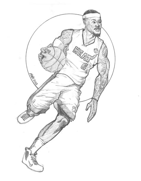 lebron james coloring pages paul s blog 187 lebron gets his ring