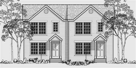 narrow lot house plans with basement narrow lot duplex house plans narrow and zero lot line