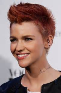 how to get ruby haircut ruby rose red pompadour hairstyle for short hair pretty