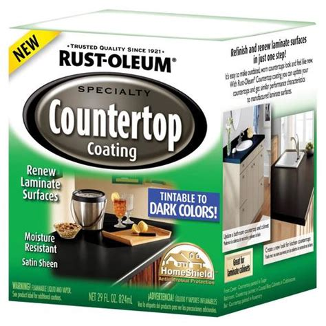 rust oleum specialty countertop coating from lowes paints stains house