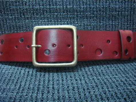 Handmade Leather Workshop - handmade leather belts spantis