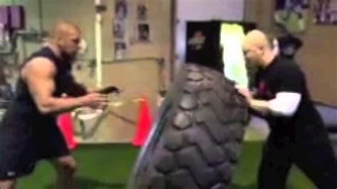 brock lesnar bench press max secret training video of wwe superstar triple h preparing for brock lesnar at