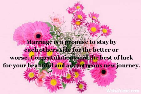 Wedding Wishes New Journey by Wedding Messages